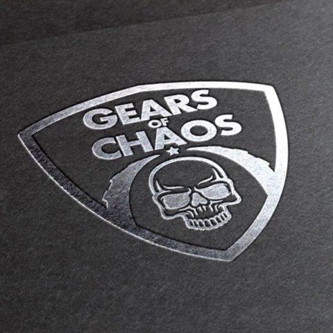 Логотип для игры Gears of Chaos